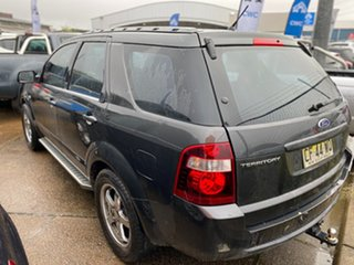 2009 Ford Territory SY MkII TX Grey 4 Speed Sports Automatic Wagon