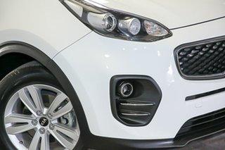 2016 Kia Sportage QL MY17 Si AWD White 6 Speed Sports Automatic Wagon.