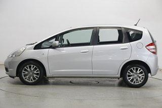 2010 Honda Jazz GE MY10 VTi Vibe Silver 5 Speed Manual Hatchback.