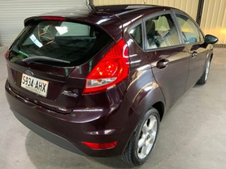 2009 Ford Fiesta WS CL Purple 4 Speed Automatic Hatchback.
