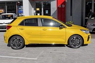 2021 Kia Rio YB MY21 GT-Line DCT Yellow 7 Speed Sports Automatic Dual Clutch Hatchback