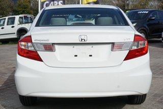 2012 Honda Civic 9th Gen VTi-S White 5 Speed Sports Automatic Hatchback
