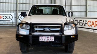 2011 Ford Ranger PK XL Crew Cab White 5 Speed Automatic Utility
