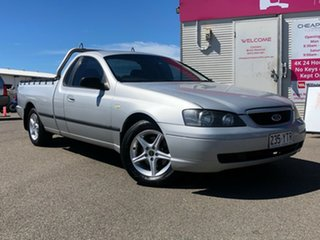 2005 Ford Falcon BF XL Ute Super Cab Silver 4 Speed Automatic Utility