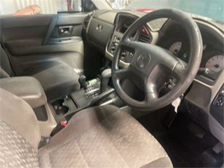 2005 Mitsubishi Pajero NP GLX LWB (4x4) Green 5 Speed Auto Sports Mode Wagon