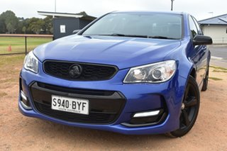 2016 Holden Commodore VF II MY16 SV6 Sportwagon Black Blue 6 Speed Sports Automatic Wagon.