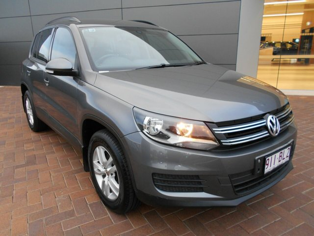 Used Volkswagen Tiguan 5N MY12 132TSI DSG 4MOTION Toowoomba, 2011 Volkswagen Tiguan 5N MY12 132TSI DSG 4MOTION Grey 7 Speed Sports Automatic Dual Clutch Wagon