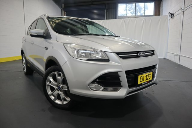 Used Ford Kuga TF Trend AWD Castle Hill, 2014 Ford Kuga TF Trend AWD Silver 6 Speed Sports Automatic Wagon