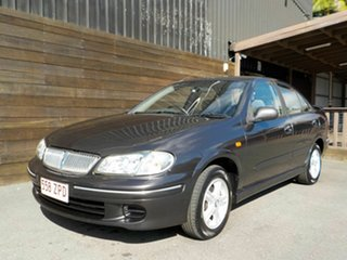 2002 Nissan Pulsar N16 Q Grey 4 Speed Automatic Sedan