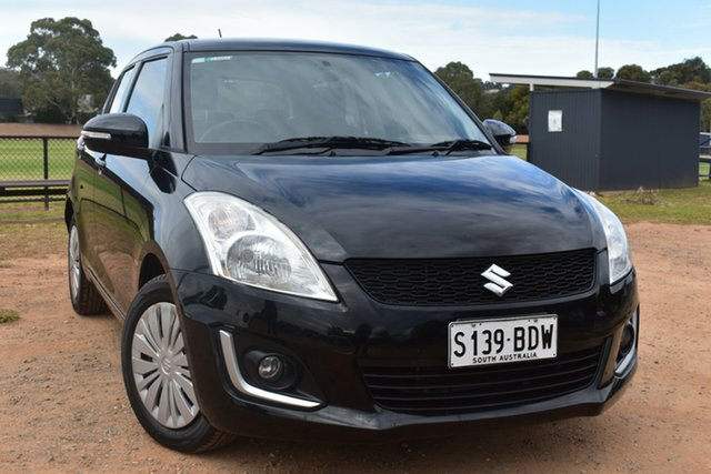Used Suzuki Swift FZ MY14 GL Navigator St Marys, 2014 Suzuki Swift FZ MY14 GL Navigator Black 5 Speed Manual Hatchback