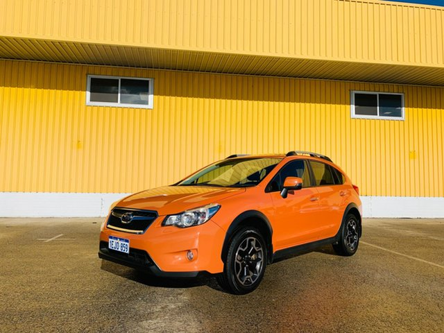 Used Subaru XV G4X MY14 2.0i-S Lineartronic AWD Canning Vale, 2014 Subaru XV G4X MY14 2.0i-S Lineartronic AWD Orange 6 Speed Constant Variable Wagon