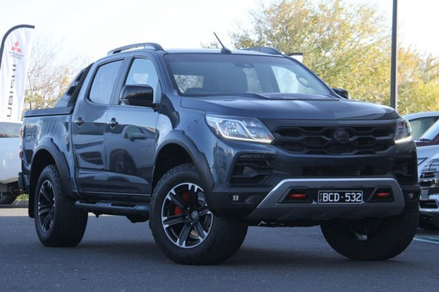 Used Holden Special Vehicles Colorado RG MY18 SportsCat+ Pickup Crew Cab Essendon North, 2018 Holden Special Vehicles Colorado RG MY18 SportsCat+ Pickup Crew Cab Grey 6 Speed