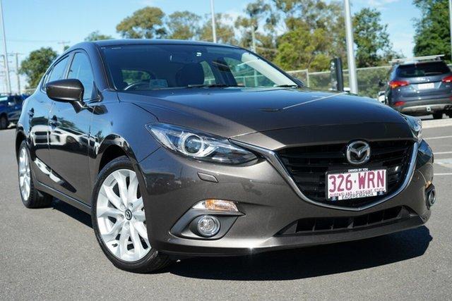 Used Mazda 3 BM5438 SP25 SKYACTIV-Drive Hillcrest, 2016 Mazda 3 BM5438 SP25 SKYACTIV-Drive Grey 6 Speed Sports Automatic Hatchback