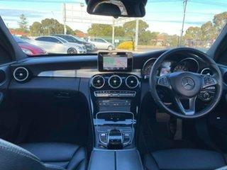 2016 Mercedes-Benz C-Class W205 NIGHT EDIT C200 7G-Tronic + White 7 Speed Automatic Sedan