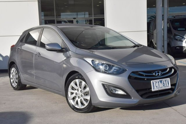 Used Hyundai i30 GD3 Series II MY16 Active Oakleigh, 2014 Hyundai i30 GD3 Series II MY16 Active Silver 6 Speed Manual Hatchback