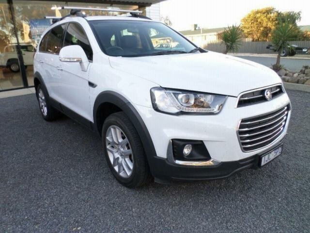 Pre-Owned Holden Captiva CG MY17 Active 7 Seater Wangaratta, 2017 Holden Captiva CG MY17 Active 7 Seater White 6 Speed Automatic Wagon