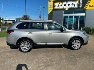 2019 Mitsubishi Outlander ZL MY20 ES 2WD Silver/140120 6 Speed Constant Variable Wagon.