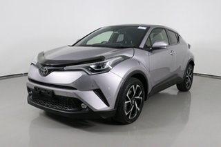 2017 Toyota C-HR NGX50R Update Koba (AWD) Silver Continuous Variable Wagon.