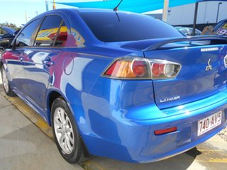 2010 Mitsubishi Lancer CJ MY10 Activ Blue 6 Speed Constant Variable Sedan