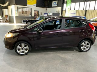 2009 Ford Fiesta WS CL Purple 4 Speed Automatic Hatchback