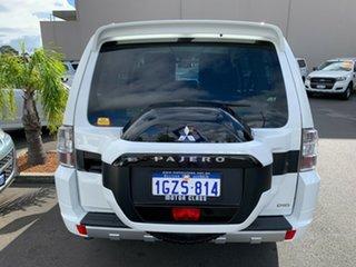 2016 Mitsubishi Pajero NX MY17 GLX Pearl White 5 Speed Sports Automatic Wagon.