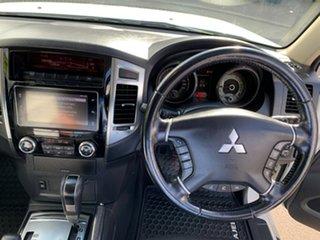 2016 Mitsubishi Pajero NX MY17 GLX Pearl White 5 Speed Sports Automatic Wagon