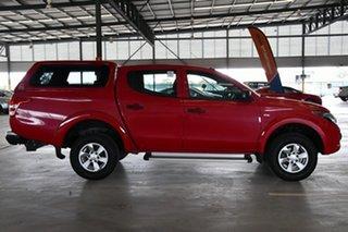 2017 Mitsubishi Triton MQ MY17 GLX Plus (4x4) Rose Red 5 Speed Automatic Club Cab Pickup