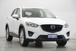2014 Mazda CX-5 KE1021 MY14 Grand Touring SKYACTIV-Drive AWD White 6 Speed Sports Automatic Wagon