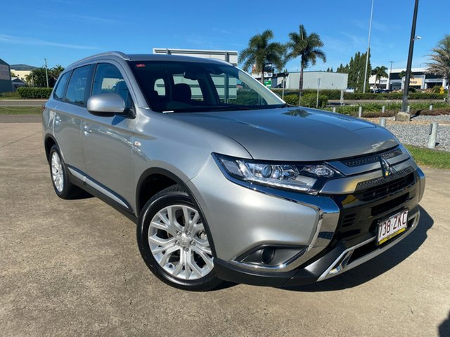 Used Mitsubishi Outlander ZL MY20 ES 2WD Townsville, 2019 Mitsubishi Outlander ZL MY20 ES 2WD Silver/140120 6 Speed Constant Variable Wagon