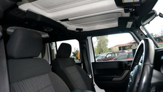 2012 Jeep Wrangler JK MY2013 Unlimited Sport White 6 Speed Manual Softtop