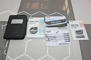 2016 Isuzu D-MAX TF MY15 SX (4x2) White 5 Speed Automatic Crew Cab Chassis