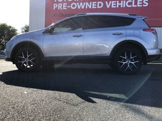 2017 Toyota RAV4 ZSA42R MY18 GXL (2WD) Silver Sky Continuous Variable Wagon
