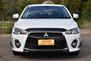 2016 Mitsubishi Lancer CF MY16 GSR White 6 Speed Constant Variable Sedan.