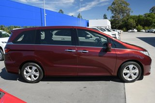 2014 Honda Odyssey RC MY14 VTi Maroon 7 Speed Constant Variable Wagon.