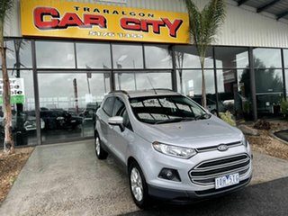 2014 Ford Ecosport BK Trend Silver 6 Speed Automatic Wagon.