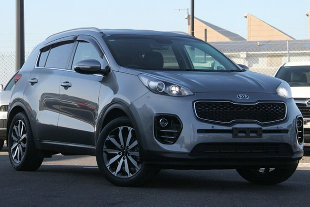 Used Kia Sportage QL MY17 SLi 2WD Essendon Fields, 2017 Kia Sportage QL MY17 SLi 2WD Silver, Chrome 6 Speed Sports Automatic Wagon