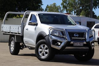 2018 Nissan Navara D23 S3 RX Silver 6 Speed Manual Cab Chassis.