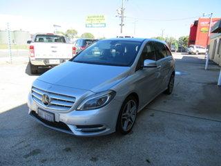2014 Mercedes-Benz B200 CDI W246 B200 Silver 7 Speed Automatic Hatchback.