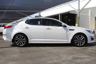 2015 Kia Optima TF MY15 Platinum Snow White Pearl 6 Speed Sports Automatic Sedan.