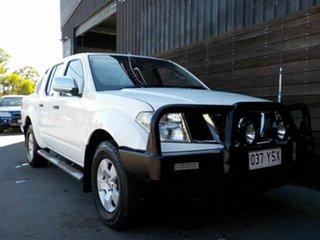 2007 Nissan Navara D40 ST-X 4x2 White 5 Speed Automatic Utility.