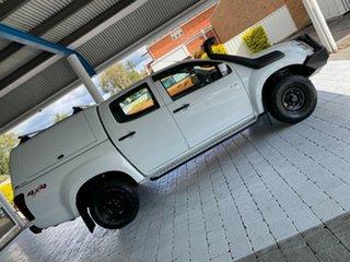 2015 Isuzu D-MAX LS-M White Manual Dual Cab Utility