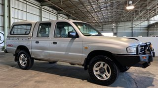 2002 Mazda Bravo B2500 DX Silver 5 Speed Manual Utility.