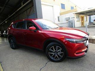 2017 Mazda CX-5 KF4W2A GT SKYACTIV-Drive i-ACTIV AWD Red 6 Speed Sports Automatic Wagon.