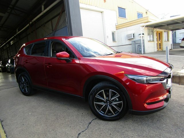 Used Mazda CX-5 KF4W2A GT SKYACTIV-Drive i-ACTIV AWD Moorooka, 2017 Mazda CX-5 KF4W2A GT SKYACTIV-Drive i-ACTIV AWD Red 6 Speed Sports Automatic Wagon
