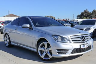 2014 Mercedes-Benz C-Class C204 C250 7G-Tronic + Avantgarde Silver 7 Speed Sports Automatic Coupe