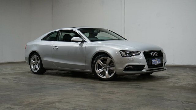 Used Audi A5 8T MY13 Multitronic Welshpool, 2013 Audi A5 8T MY13 Multitronic Silver 8 Speed Constant Variable Coupe