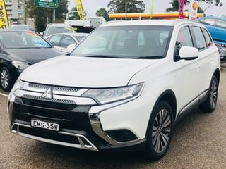 2019 Mitsubishi Outlander ZL MY20 ES AWD White 6 Speed Constant Variable Wagon.