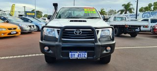 2011 Toyota Hilux KUN26R MY10 SR 5 Speed Manual Cab Chassis.