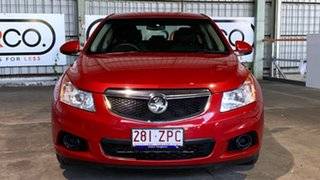 2011 Holden Cruze JG CD Red 6 Speed Sports Automatic Sedan