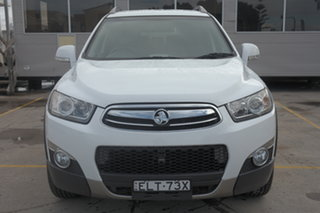 2011 Holden Captiva CG MY10 LX AWD White 5 Speed Sports Automatic Wagon.